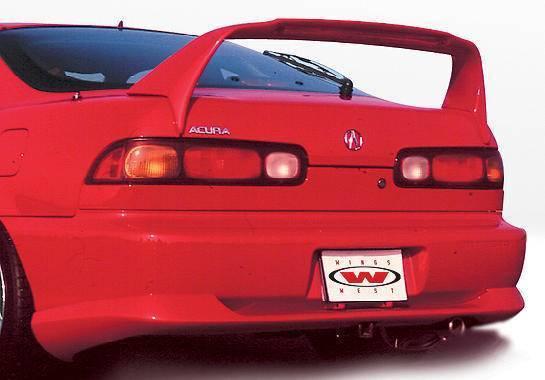 Wings West - 1994-1997 Acura Integra 2Dr Racing Series Rear Lip Polyurethane