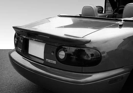 Wings West - 1990-1998 Mazda Miata Factory Style Lip Spoiler