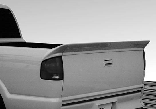 Wings West - 1994-2003 Chevrolet S 10 3Pc Tailgate Spoiler No Light