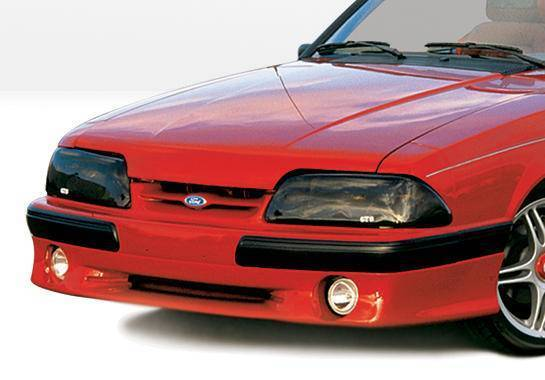 Wings West - 1987-1993 Ford Mustang Lx Cobra Style Front Lip Polyurethane