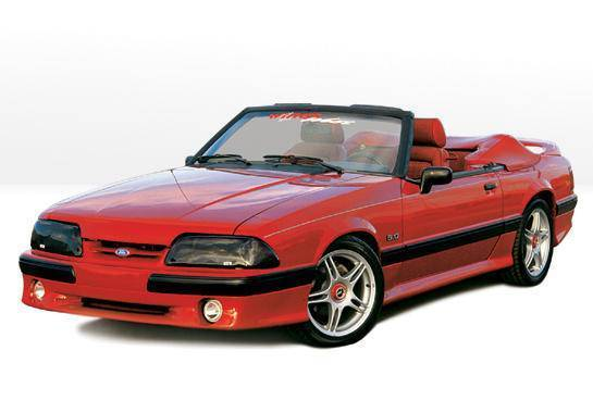 Wings West - 1987-1993 Ford Mustang Lx Cobra Style Complete Kit
