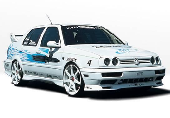 Wings West - 1993-1998 Volkswagen Jetta Custom Style 4Pc Complete Kit