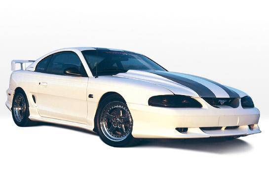 Wings West - 1994-1998 Ford Mustang All Models Custom Style 4Pc Complete Kit