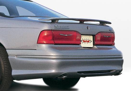 Wings West - 1996-1997 Ford Thunderbird Custom Style Rear Lip Polyurethane