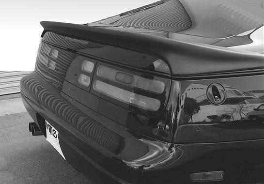 Wings West - 1990-1996 Nissan 300Zx Wrap Around Flushmount Spoiler No Light