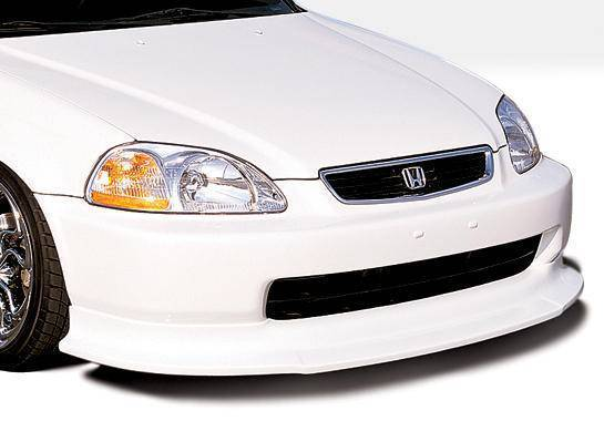 Wings West - 1996-1998 Honda Civic All Models Touring Style Front Lip Polyurethane
