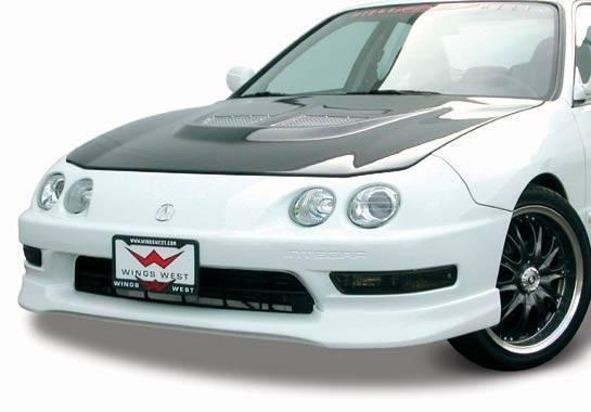 Wings West - 1994-1997 Acura Integra 2/4Dr Type R Front Lip Polyurethane