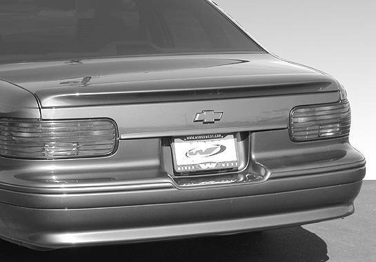 Wings West - 1991-1996 Chevrolet Caprice Impala Ss Style Lip Spoiler No Light