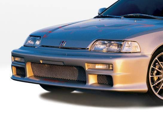 Wings West - 1988-1991 Honda Civic Hb Racing Series Front Bumper Cover