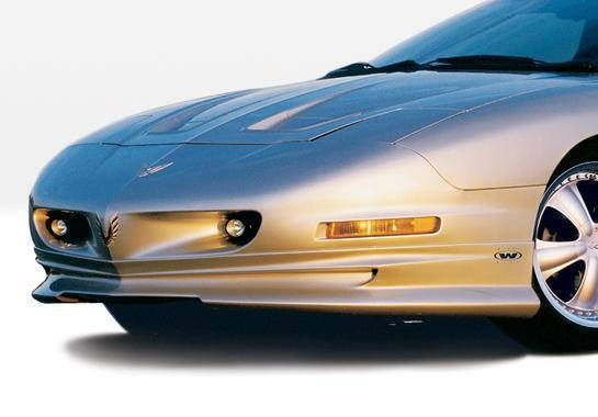 Wings West - 1993-1997 Pontiac Firebird W-Typ Front Lip Polyurethane
