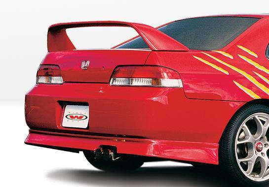 Wings West - 1997-2001 Honda Prelude Racing Series Rear Lip Polyurethane