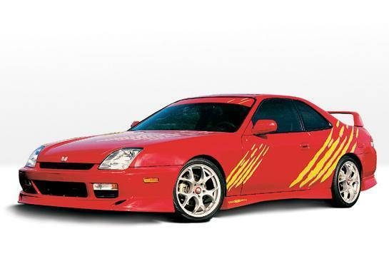 Wings West - 1997-2001 Honda Prelude Racing Series 4Pc Complete Kit