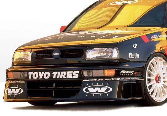 Wings West - 1993-1998 Volkswagen Jetta/Golf Touring Front Lip