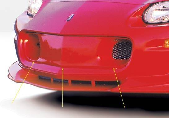 Wings West - 1998-2002 Chevrolet Camaro Front Grill Insert W/ Aluminum Mesh