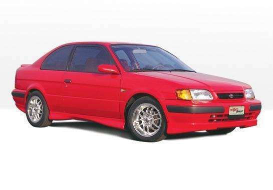 Wings West - 1998-1999 Toyota Tercel 2 Door M-Typ 5Pc Complete Kit With Lip Spoiler
