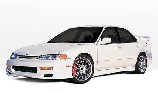 Wings West - 1994-1995 Honda Accord 4Dr W-Typ 4Pc Complete Kit 4 Cylinder Only