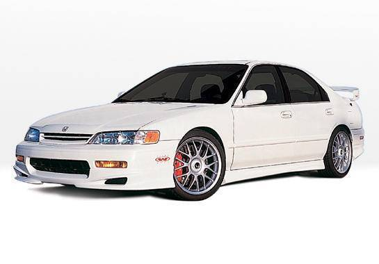 Wings West - 1994-1995 Honda Accord 2Dr W-Typ 4Pc Complete Kit 4 Cylinder Only