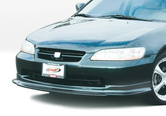 Wings West - 1998-2000 Honda Accord 4Dr Touring Style Front Lip Polyurethane