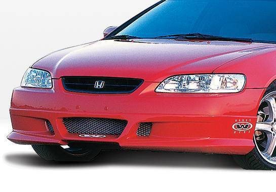 Wings West - 1998-2000 Honda Accord 2Dr W-Typ Front Lip Polyurethane