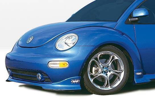 Wings West - 1999-2003 Volkswagen Beetle W-Typ Front Lip Polyurethane Will Not Fit Turbo S