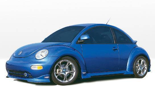 Wings West - 1999-2003 Volkswagen Beetle W-Typ 4Pc Complete Kit Will Not Fit Turbo S