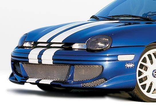Wings West - 1995-1999 Dodge Neon 2/4 Door Racing Series Front Bumper
