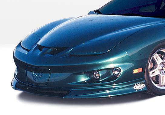 Wings West - 1998-2002 Pontiac Firebird W-Typ Front Lip Polyurethane