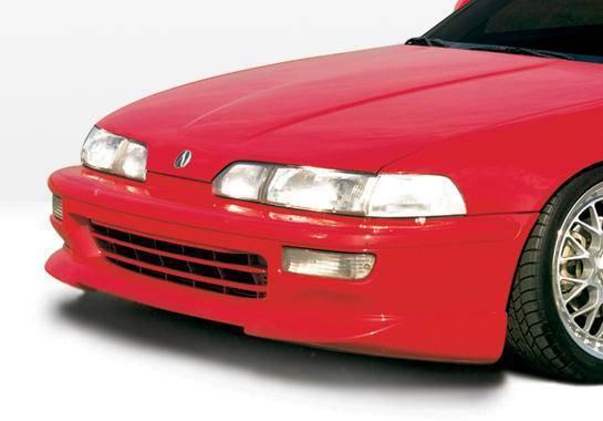Wings West - 1992-1993 Acura Integra 2 Door Racing Series Front Lip Polyurethane