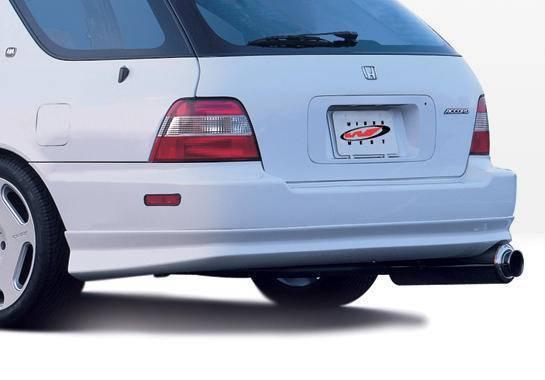 Wings West - 1996-1997 Honda Accord Wagon W-Typ Rear Lip Polyurethane
