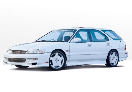 Wings West - 1996-1997 Honda Accord Wagon W-Typ 4Pc Complete Kit