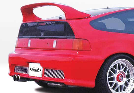 Wings West - 1988-1991 Honda Crx Racing Series Rear Bumper Cover Polyurethane