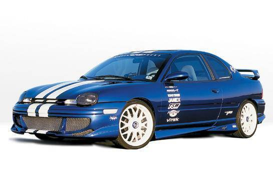 Wings West - 1995-1999 Dodge Neon 4 Door Racing Series 4Pc Complete Kit