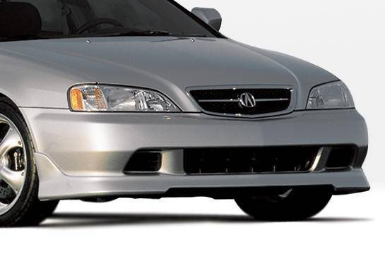 Wings West - 1999-2003 Acura Tl W-Typ Front Lip Polyurethane
