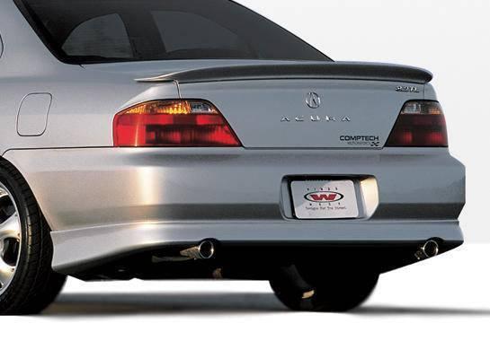 Wings West - 1999-2003 Acura Tl W-Typ Rear Lip Polyurethane