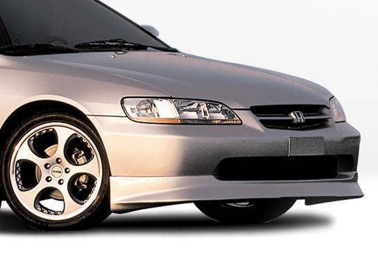 Wings West - 1998-2000 Honda Accord 4Dr W-Typ Front Lip Polyurethane