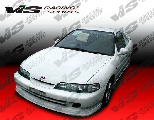 Wings West - 1995-2001 Acura Integra 2/4Dr Jdm Type R Front Lip Polyurethane