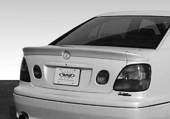 Wings West - 1998-2002 Lexus Gs300/400 Custom 3Pc Spoiler No Light