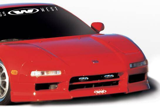 Wings West - 1991-2001 Acura Nsx W-Typ Front Lip Polyurethane