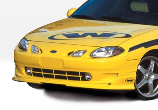 Wings West - 1997-2003 Ford Escort Zx2 W-Type Front Lip Polyurethane