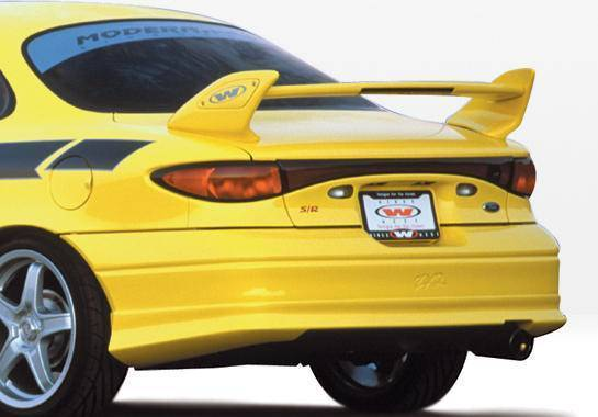 Wings West - 1997-2003 Ford Escort Zx2 W-Typ Rear Lip Polyurethane