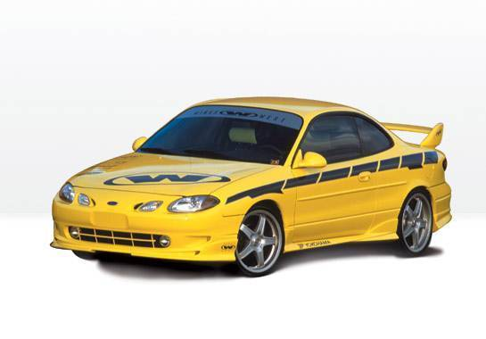 Wings West - 1997-2002 Ford Escort Zx2 W-Typ 4Pc Complete Kit