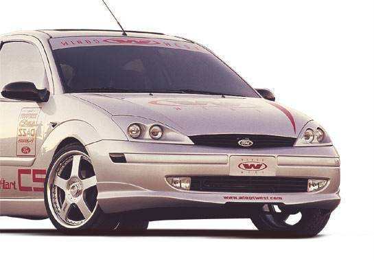 Wings West - 2000-2004 Ford Focus Zx3/Zx5 W-Typ Front Lip Polyurethane