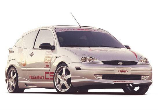 Wings West - 2000-2004 Ford Focus Zx3 W-Typ 4Pc Complete Kit