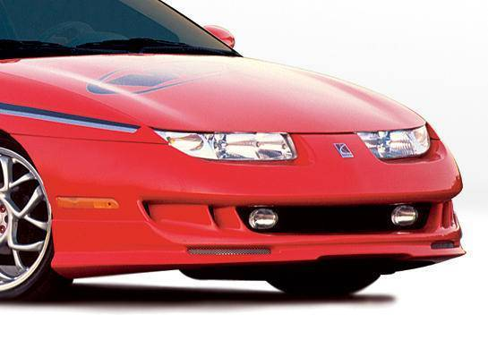 Wings West - 1997-2000 Saturn Sc Coupe W-Typ Front Lip Polyurethane