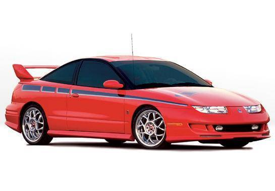 Wings West - 1997-2000 Saturn Sc Coupe W-Typ 4Pc Complete Kit