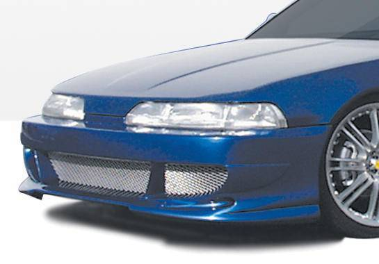 Wings West - 1990-1993 Acura Integra 2/4Dr Bigmouth 2 Front Bumper Cover