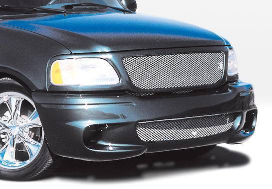 Wings West - 1997-2003 Ford F-150 All Models Lightning Style Front Bumper Cover