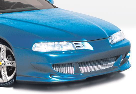 Wings West - 1992-1996 Honda Prelude Bigmouth Front Bumper Cover