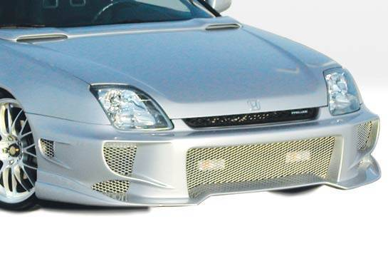 Wings West - 1997-2001 Honda Prelude Aggressor Type 2 Front Bumper Cover