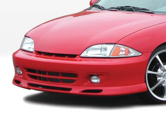 Wings West - 2000-2002 Chevrolet Cavalier 2Dr W-Typ Front Lip Polyurethane